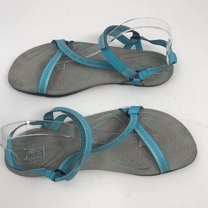 Teva Spider Rubber Blue Velcro  Strap Sandal